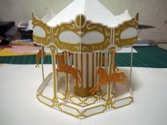 20100419_merry-go-round_FB (密斯特夫) Tags: 紙雕 卡片 手工 paperart