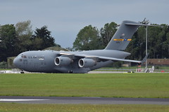 10-0215 C-17A US Air Force (eigjb) Tags: 100215 c17a us air force military transport globemaster mcdonnell douglas c17 437aw rch540 00215 dublin airport ireland eidw international collinstown aircraft airplane aeroplane aviation 2019 support visit presidential usaf