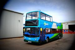 Morecambe depot - 17217 (Hesterjenna Photography) Tags: v217mev bus psv coach opentop opentopbus stagecoachcumbria stagecoachnorthwest stagecoach alx400 alexander dennis trident lakes