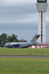10-0215 C-17A US Air Force (eigjb) Tags: 100215 c17a us air force military transport globemaster mcdonnell douglas c17 437aw rch540 00215 dublin airport ireland eidw international collinstown aircraft airplane aeroplane aviation 2019 support visit presidential control tower