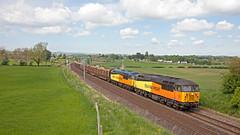 Colas Fail (2) (Richie B.) Tags: 56090 56049 colas rail yanwath wcml west coast main line cumbria 6j37 brel ruston paxman british class 56