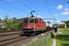 SBB Cargo Re 420 345-1 Kesselzug, Turgi (michaelgoll777) Tags: sbb re44 re420