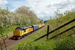 Get In, Sun! (Richie B.) Tags: colas rail class 37 british english electric 37219 3z45 yanwath wcml west coast main line cumbria