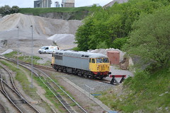 GBRF Class 56 56081 - Dove Holes Quarry (dwb transport photos) Tags: gbrf grid locomotive 56081 doveholesquarry peakforest