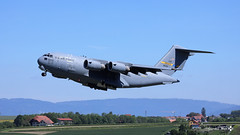 McDonnell Douglas C-17 Globemaster III, US Air Force, 99206 (maxguenat) Tags: c17 globemasteriii mcdonnelldouglas avion spotter spotting payerne décollage