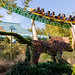 Cheetah Hunt Topiary