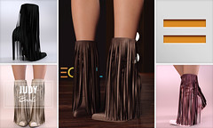 EQUAL - Judy Boots (EQUAL SL) Tags: secondlife shoes slink maitreya belleza legacy fameshed mesh