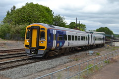 Northern Rail Class 158 158782 - Chesterfield (dwb transport photos) Tags: arriva northernrail dmu sprinter chesterfield 158782