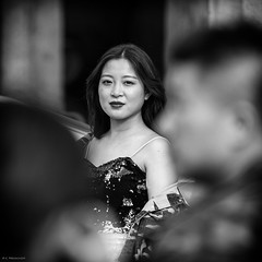 The look (Claus Preuschoff) Tags: candid streetphotography streetlife d750 dof depthoffield blackwhite bokehlicious bokeh beijing sigma sigma70200mmf28