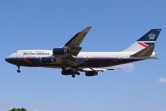G-BNLY Heathrow 24 May 2019 (ACW367) Tags: gbnly boeing 747400 britishairways heathrow
