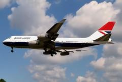 G-CIVB Heathrow 24 May 2019 (ACW367) Tags: gcivb boeing 747400 britishairways heathrow