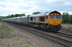 GBRf Class 66/7 66750 - Chesterfield (dwb transport photos) Tags: locomotive chesterfield gbrf 66750 bristolpanelsignalbox