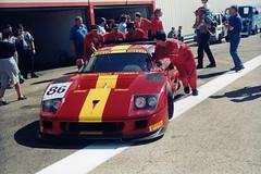 Ferrari F40 à Dijon Prenois (stéphanehébert) Tags: ferrari f40 dijon prenois 1996 pentax z1 dxo silverfast
