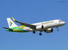 F-WWIB Airbus A320 Neo Salam Air (@Eurospot) Tags: fwwib airbus a320 neo 9017 a40ovf salamair lfbo toulouse blagnac
