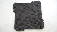 Burnt Chainmail (Arseni Ko) Tags: origami pattern paper design geometry symmetry tesselation