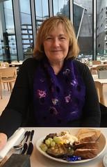 Birthday dinner V&A (Hecuba's Story) Tags: dundee va