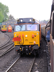 50007 (R~P~M) Tags: train railway diesel locomotive 50 england uk unitedkingdom greatbritain severnvalleyrailway bridgnorth salop shropshire