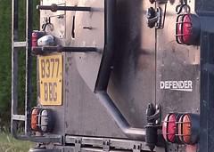 253 of Year 5 - Butt a Defender (I'm Tim Large) Tags: eveninglight landrover classic 1985 british 253 365 fuji fujifilm xe1 cheddar defender 90 rear back 4x4