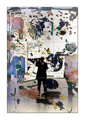 Photographer (Jean-Louis DUMAS) Tags: portrait portraiture autoportait autoportrait people musée museum art artistic artistique artiste artist abstract abstraction abstrait lvmh