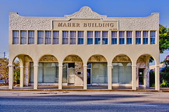 Maher Building, 1423 20th Street, Vero Beach, Florida, USA / Built: 1920 / Floors: 2 / Architectural Style:  Mediterranean Revival Style / NRHP reference # 94001274 / Added to NRHP: October 28, 1994 (Photographer South Florida) Tags: illinoishotel maherbuilding 142320thstreetverobeach florida usa built1920 nrhpreference94001274 addedtonrhpoctober28 1994 verobeach indianrivercounty city cityscape urban downtown skyline density centralbusinessdistrict building architecture commercialproperty cosmopolitan metro metropolitan metropolis sunshinestate realestate highrise condominium humidsubtropicalclimate treasurecoast verobeachpier atlanticocean jayceepark sand beach seaweed fishingpier historicdowntown historicarchitecture statewidecommercialinsurance mediterraneanrevivalstyle