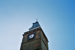 Midsteeple (bigalid) Tags: film 35mm olympusmjuzoom105 olympus mju lomography100cn c41 may 2019 dumfries midsteeple