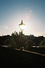 Light 2 (bigalid) Tags: film 35mm olympusmjuzoom105 olympus mju lomography100cn c41 may 2019 dumfries light lamp