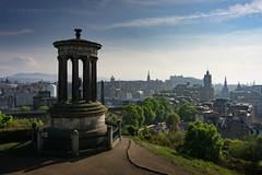 Enlightenment (ianrwmccracken) Tags: shadow urban scotland edinburgh caltonhill monument city sony a6000 capital dugaldstewart