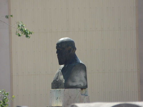 Mirador de Saavedra, Tarragona - Monument to Saavedra (1913) by Julio Antonio Rodriguez