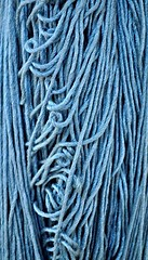 Yarn Blues (pjpink) Tags: carpet carpetschool elsultancarpetschool rug weaving textiles loom yarn giza egypt january 2019 winter pjpink 2catswithcameras