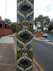 Stobie Cats (mikecogh) Tags: croydon stobiepole telegraphpole cats stylistic islamic scrolls pattern repetition decorated painted