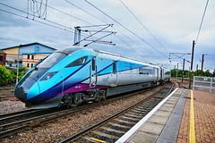 5Q53 1611 York Siemens Trans Systems to Heaton T&R.S.M.D. Arriving  Platform 11 (P.J.S. PHOTOGRAPHY) Tags: 5q53 1611 york siemens trans systems heaton trsmd arriving leaving platform 11 nova 1 tpe