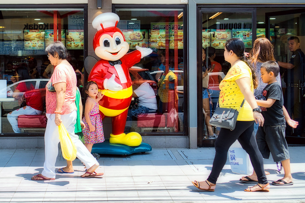Posing with Jollibee. by Beegee49 (Thanks for 12m views,account locked, on Flickr