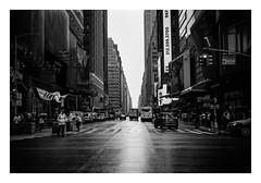 FILM - 7th Avenue (fishyfish_arcade) Tags: 35mm analogphotography bw blackwhite blackandwhite canonsureshotz135 filmphotography filmisnotdead hp5 istillshootfilm monochrome newyork analogcamera compact film ilford mono 7thavenue