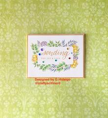 Leafy Frames (Craftyscifinerd) Tags: sssflickrchallenge124 simonsaysstamp sssck cardmaking cardmaker