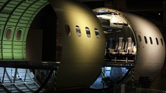 Plane fuselage (Benn Gunn Baker) Tags: concorde gboaf bristol benn gunn baker canon 550d filton england plane aerospace engineering