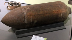 Unexploded Bomb Dropped on Filton during the air raids of September 1940. (Benn Gunn Baker) Tags: concorde gboaf bristol benn gunn baker canon 550d filton england plane aerospace engineering