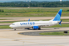 19-2299 (George Hamlin) Tags: virginia chantilly united airlines new livery boeing 737824 airplane aircraft airliner jet narrowbody single aisle n37267 taxiway trees washington dulles international airport photodecor george hamlin photography