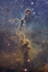 IC1396 (Elephant Trunk Nebula) in SHO (Radar Boy) Tags: elephanttrunk ic1396 nebula narrowband
