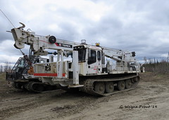 Hydro One 597-010 PowerTraxx 15SW-H Utility Tracked Vehicle - 831-040 Terex Digger Derrick (Gerald (Wayne) Prout) Tags: hydroone597010powertraxx15swhutilitytrackedvehiclecw831040terexdiggerderrick hydroone597010powertraxx15swhutilitytrackedvehicle 831040terexdiggerderrick hydroone 597010 powertraxx 15swh utility tracked vehicle powertraxx15swhutilitytrackedvehicle 831040 terex digger derrick highway101west bristoltownship cityoftimmins northeasterontario canada prout geraldwayneprout canon canonpowershotsx60hs powershot sx60 hs digital camera photographed photography equipment machine machinery highvoltagelines hydropoles utilitypoles highway 101 west city timmins northernontario northern northeastern utilityvehicle trackedvehicle bristol township