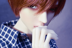 Noticed (flameonchoi) Tags: ringdoll merlin bjd abjd anime kpop jpop manga fashion korean chinese japanese sexy male model