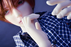 Noticed 2 (flameonchoi) Tags: ringdoll merlin bjd abjd anime kpop jpop manga fashion korean chinese japanese sexy male model