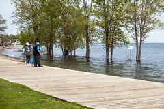 2019 Toronto flooding - Sunnyside boardwalk May 31 (jer1961) Tags: toronto flooding torontoflooding lakeontario lakeontarioflooding humberbay sunnysidebeach sunnysidebeachflooding boardwalk sunnysideboardwalk
