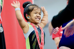 Special Olympics Michigan State Summer Games (dangaken) Tags: specialolympicsmichigan specialolympics cmu somi athlete centralmichiganuniversity compete statesummergames centralmichigan olympics so sport sports volunteer game play winner medal glitter gymnast gymnastics hearingaid