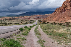 Going  Down a Ribbon of Highway 150 of 365 (Year 6) (bleedenm) Tags: 2019 abiquiu blancocanyon may mountains newmexico santafe