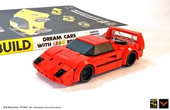Ferrari F40 (ZetoVince) Tags: zeto zetovince lego book instructions ferrari f40 supercar car