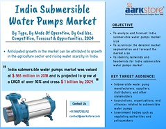 India Submersible Water Pumps Market Size, share and forecast to 2024 _ Aarkstore.com (charanjitaark) Tags: indiasubmersiblewaterpumpsmarket submersiblewaterpumpsmarket indiasubmersiblepumpsmarket borewellsubmersiblepumpsmarket agricultureandfoodmarket agricultureandforestrymarket
