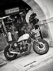 Yam cafe racer (Giancarlo - Foto 4U) Tags: moto motorcycle motor yamaha caffe racer cafe