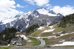 Arlberg Tirol Austria (roli_b) Tags: arlberg vorarlberg tirol tyrol austria österreich oesterreich mountains berg berge pass passhöhe road landscape landschaft natur nature schnee snow topped bedeckt 2019 grosse grubenspitze grossgrubenspitze erzbergspitze felxenspitze