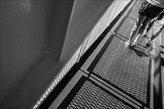 Genova-Olbia (malko59) Tags: traghetto ferry nave biancoenero blackandwhite streetphotography fujifilmxseries fujifilmx fujifilmxt1 ombre shadows legs gambe