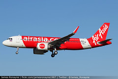 HS-CBL | Airbus A320-251N | Thai AirAsia (james.ronayne) Tags: hscbl airbus a320251n thai airasia a320neo neo a20n toulouse blagnac tls lfbo aeroplane airplane plane aircraft airliner aviation flight flying canon 80d 100400mm raw sky jet jetliner pax passenger test production factory